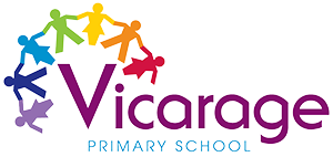 Vicarage Primary School logo